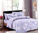 Petal Soft Orchid Double 100% Cotton Heather Botanic Duvet Cover