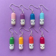 Load image into Gallery viewer, Happy Pill Earrings