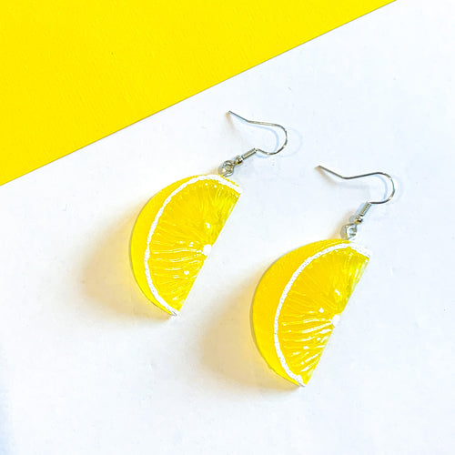 Zesty Lemon Wedge