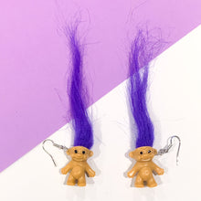 Load image into Gallery viewer, TROLL Doll Earrings
