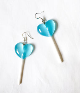 Heart Lollipop Earrings