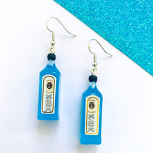 Load image into Gallery viewer, Blue Gin Earrings