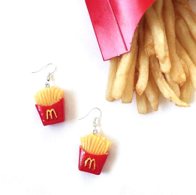 French Fry Earrings