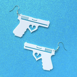 Gun Earrings