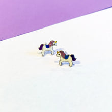 Load image into Gallery viewer, Unicorn Earrings