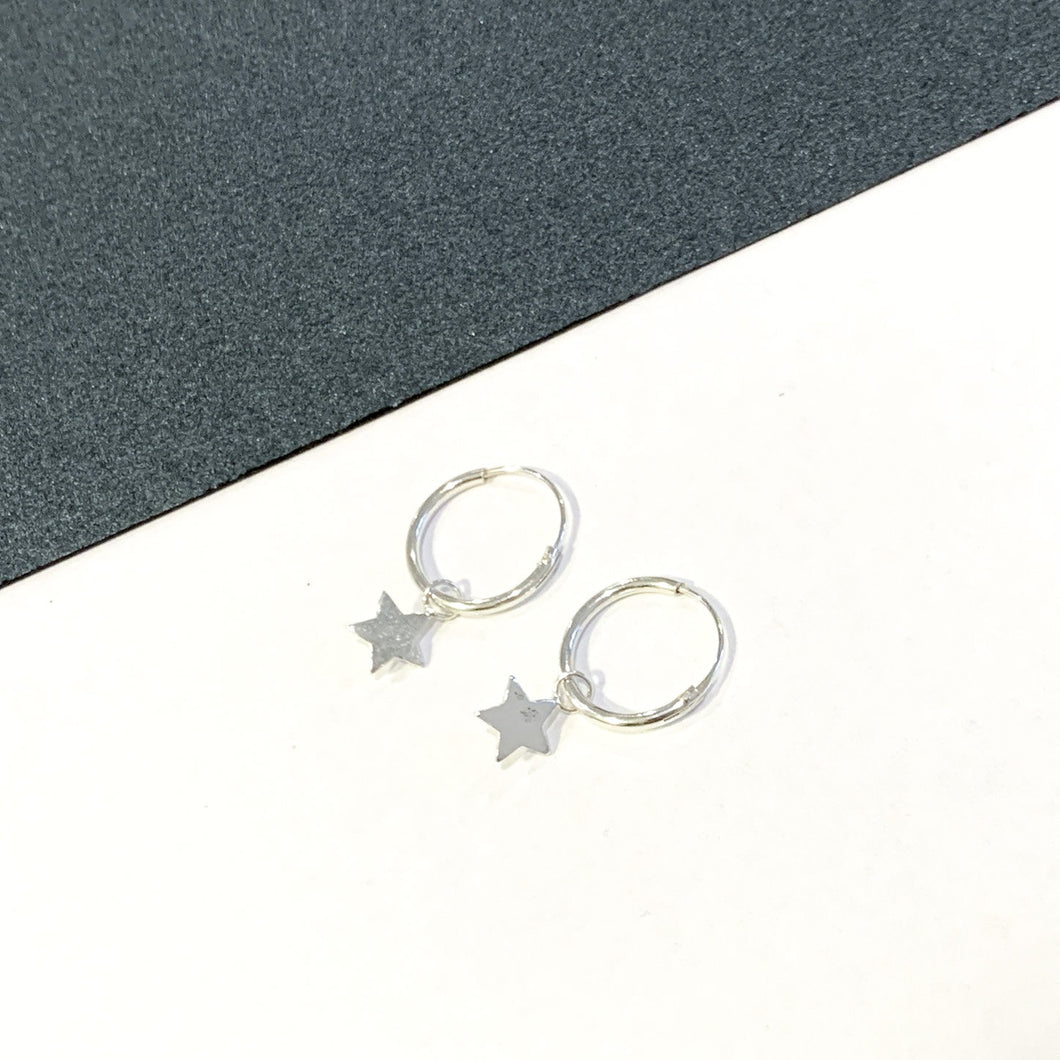 Star Light Sterling Silver Sleepers