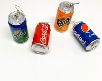 Soda Earrings