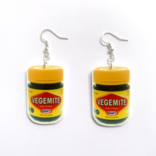 Load image into Gallery viewer, Vegemite Keychain & Earring Bundle