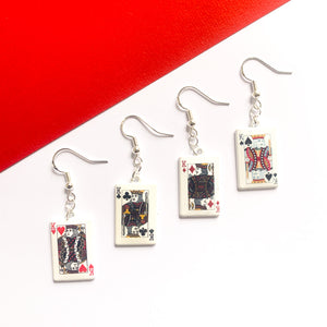 Card Earrings