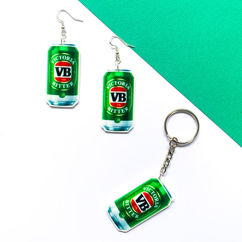 VB Keychain & Earring Bundle