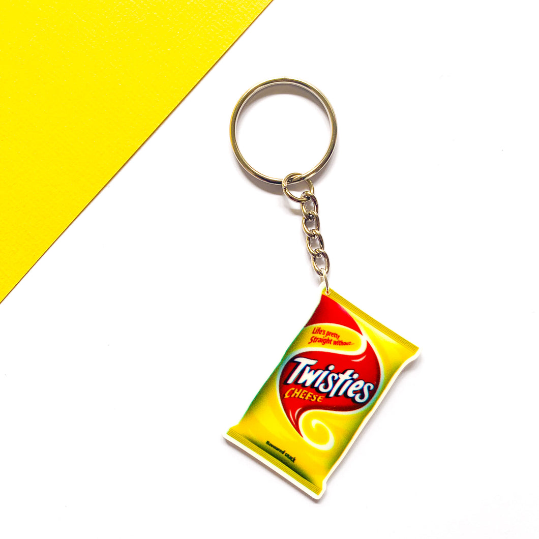 Twisties Keychain