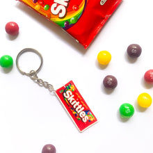 Load image into Gallery viewer, Skittles Keychain & Earring Bundle