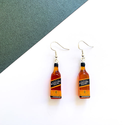 Scotch Whiskey Earrings