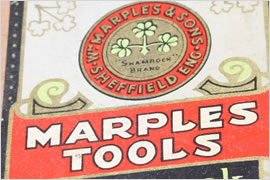 Wm Marples Tools