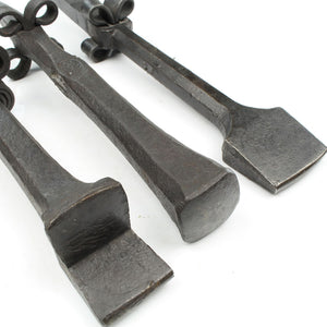 3 Vintage Scythe / Stake Anvils - OldTools.co.uk