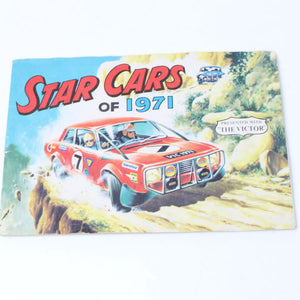 Old Star Cars Sticker - 1971