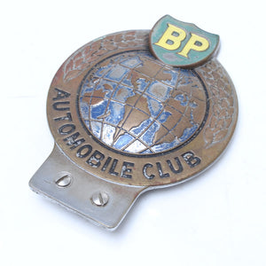 BP Automobile Club Car Badge - OldTools.co.uk