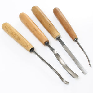 4 Henry Taylor Carving Tools - OldTools.co.uk