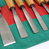 15 Piece Scharwaechter Carving Tool Set - OldTools.co.uk