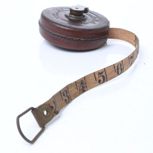 John Rabone Hockley Abbey Tape Measure – 33ft - OldTools.co.uk