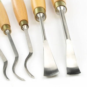 5 Ashley Iles Spoon Carving Tools - OldTools.co.uk