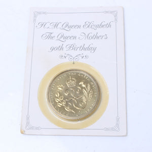 Queen Mother 90th Birthday £5 Coin