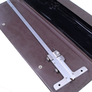 Mitutoyo 12″ Stainless Steel Vernier Depth Gauge - OldTools.co.uk