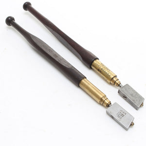 2 Glass Cutters – Rosewood - OldTools.co.uk