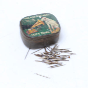 Gramophone Soft Tone Needles and Vintage Tin