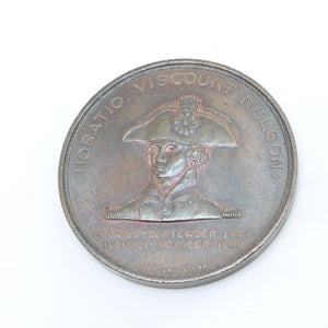 Horatio Viscount Nelson Medal - OldTools.co.uk