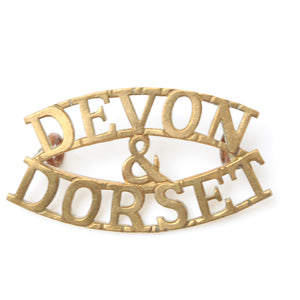 Old Devon & Dorset Badge