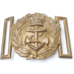 Large Crown Reath Anchor Buckle / Badge