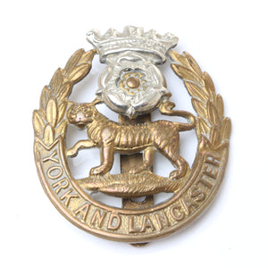 Old York and Lancaster Cap Badge