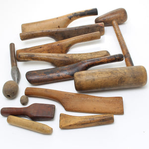 14 Boxwood, Lignum and Beech Leadworkers Tools