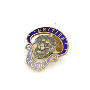 Royal British Legion Badge – circa 1930s - OldTools.co.uk