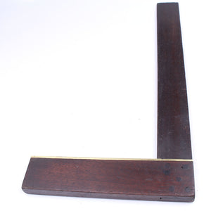 Unusual Wooden Square - 15""