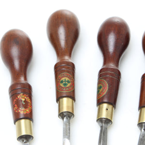 6 Wm. Marples Carving Tools – Rosewood - UK ONLY