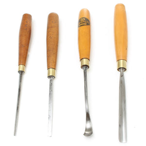 4 Wm. Marples Carving Tools