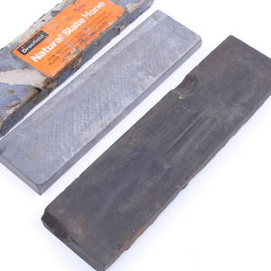 2 Sharpening Stones - OldTools.co.uk