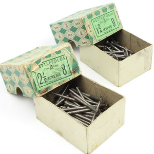 109 Nettlefolds Steel Screws - Countersunk - OldTools.co.uk