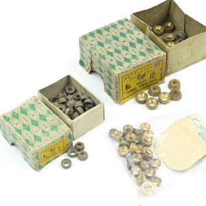 102 Nettlefolds Turned Brass Screw cups - OldTools.co.uk