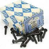 "25 x Nettlefolds Japanend Screws – 1"" x 8 - OldTools.co.uk"