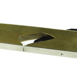 Steel Soled Brass Rebate Plane