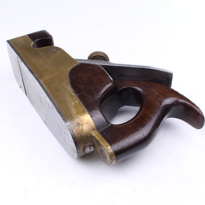 Brass Infill Smoothing Plane – Rosewood - OldTools.co.uk