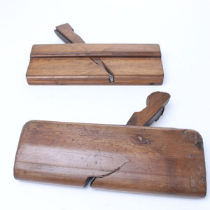 3x European Wooden Planes - OldTools.co.uk