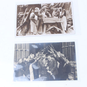 2x Old Interesting Tool Related Postcards - OldTools.co.uk