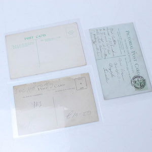3x Old Trade Related Postcards - OldTools.co.uk