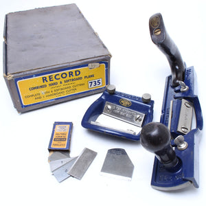 Record Combined Hard & Softboard Plane no. 735 - OldTools.co.uk