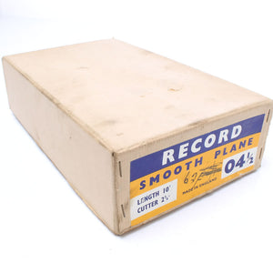 Record Smoothing Plane no.04 ½ - Mint - OldTools.co.uk