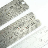 "3x 12"" Chesterman Contraction Rules - No. 1320D, 1460D, B3 - OldTools.co.uk"